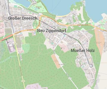 Dreesch-Schwerin.de - Karte